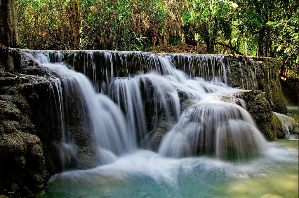 lush waterfall time management