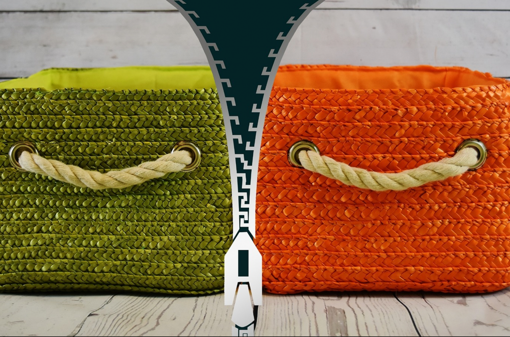 bags with zipper